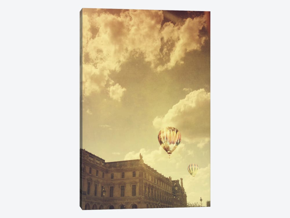 Landing At The Louvre 1-piece Canvas Art Print