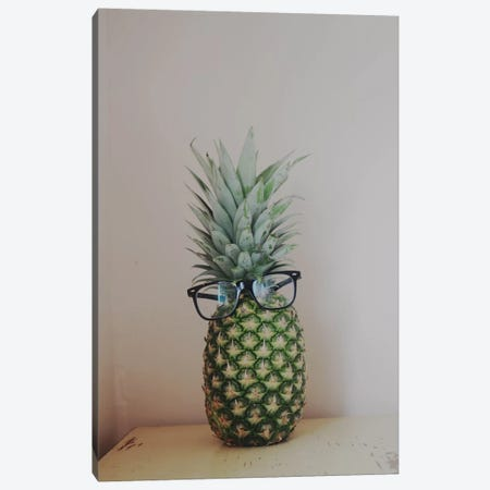 Mr. Pineapple Canvas Print #CVA50} by Chelsea Victoria Canvas Wall Art