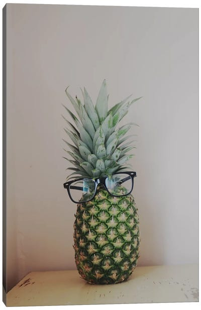 Mr. Pineapple Canvas Print #CVA50