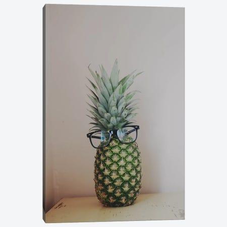 Mr. Pineapple Canvas Print #CVA50} by Chelsea Victoria Canvas Wall Art