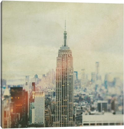 New York Old Canvas Art Print