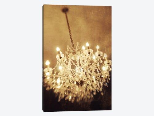 The chandelier art print by chelsea victoria icanvas the chandelier 1 piece canvas artwork aloadofball Gallery