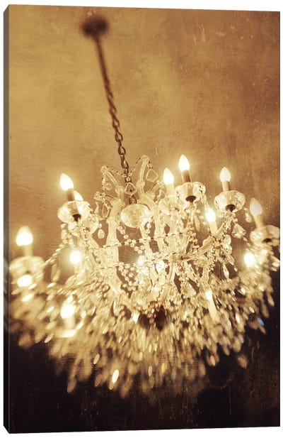 The Chandelier Canvas Art Print