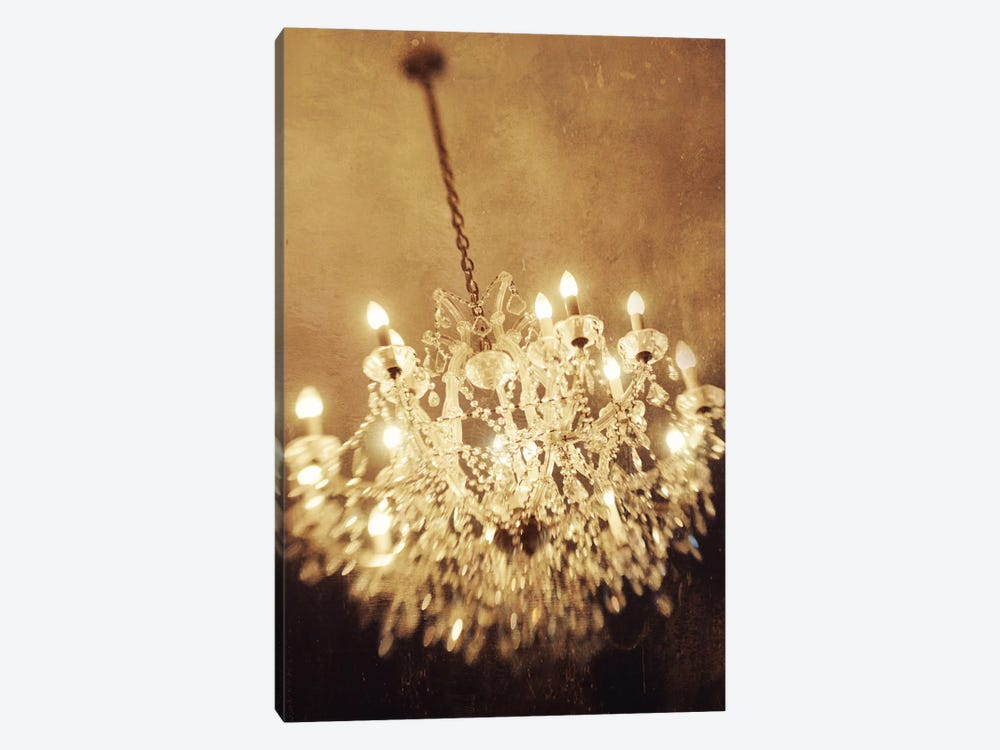The Chandelier by Chelsea Victoria 1-piece Canvas Artwork