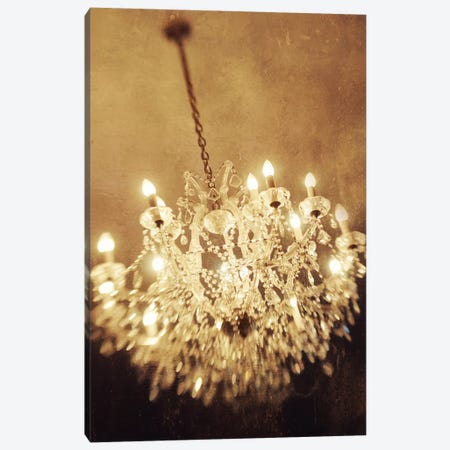 The Chandelier Canvas Print #CVA86} by Chelsea Victoria Canvas Wall Art