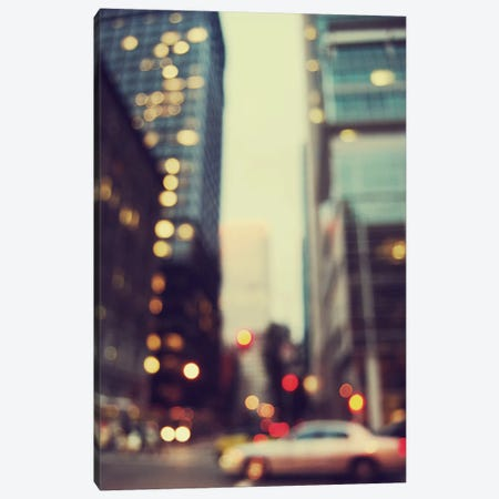 The City Of Bokeh I Canvas Print #CVA87} by Chelsea Victoria Canvas Wall Art