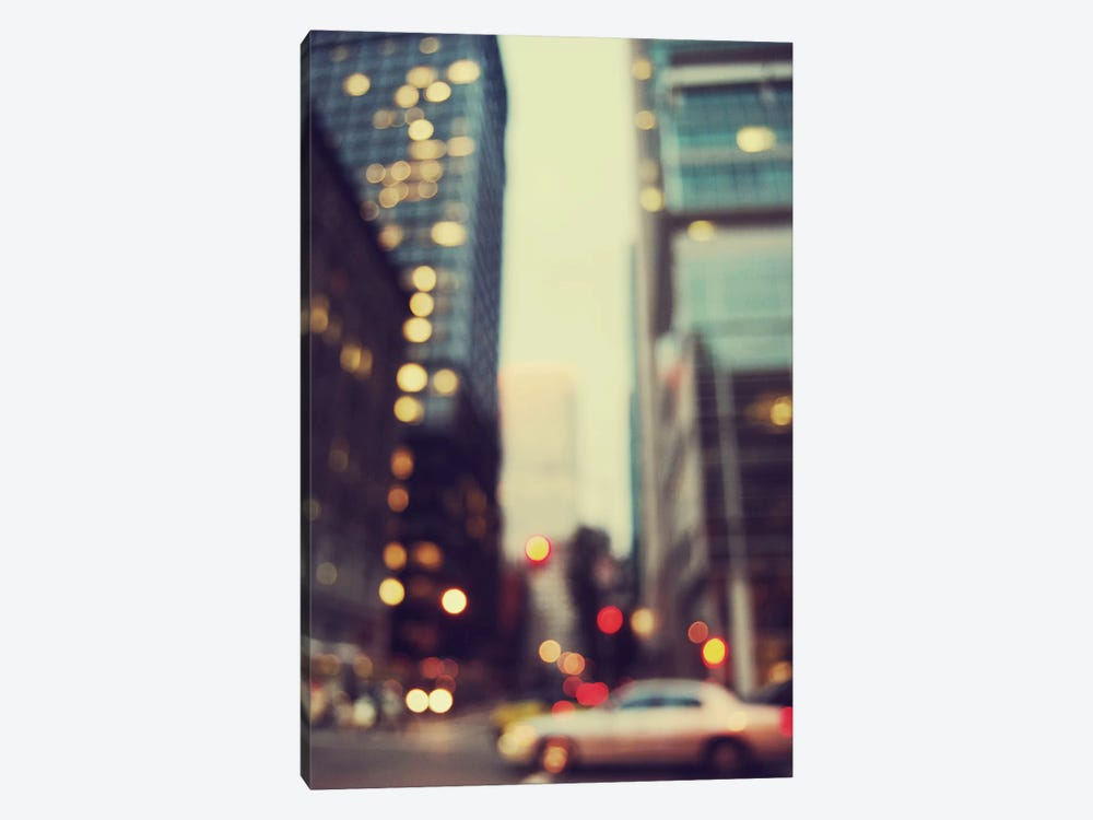 The City Of Bokeh I by Chelsea Victoria 1-piece Canvas Print