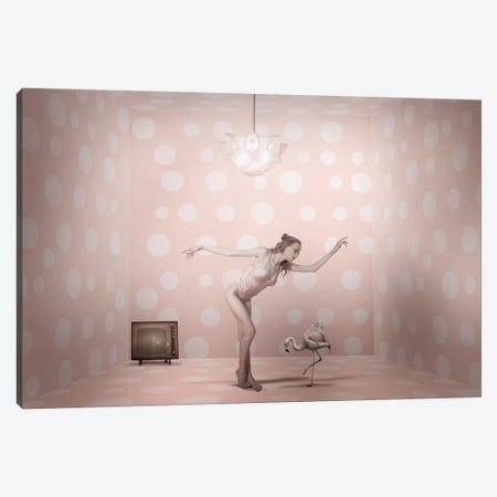 The Show Must Go On... Canvas Print #CVD4} by Christine Von Diepenbroek Canvas Art