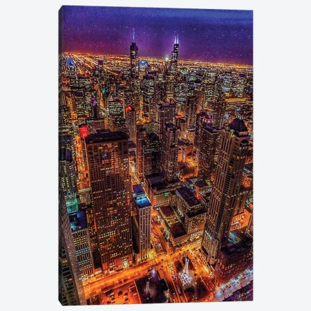 Chicago Flight Canvas Print #CVE10} by Caitlin Vera Canvas Art