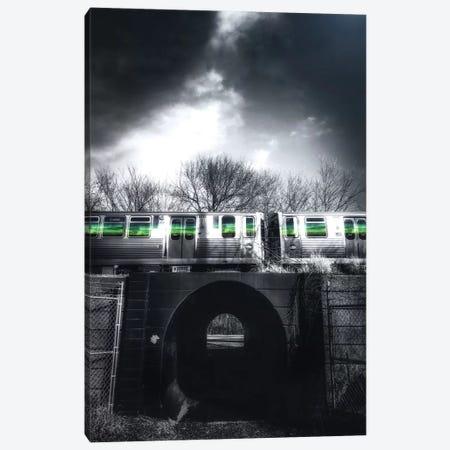 Green Flash Canvas Print #CVE15} by Caitlin Vera Canvas Print