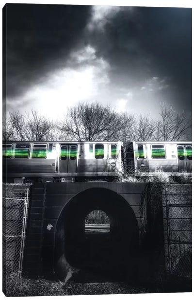 Green Flash Canvas Art Print
