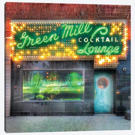 Green Mill Canvas Print #CVE16} by Caitlin Vera Art Print