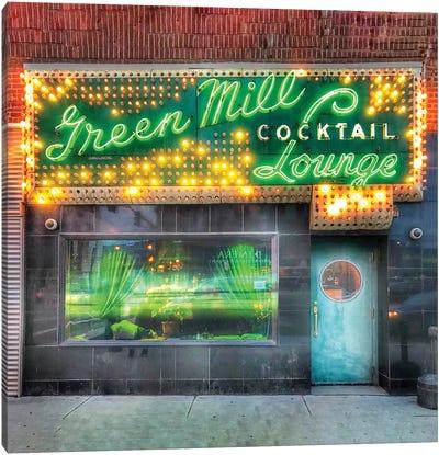 Green Mill Canvas Art Print