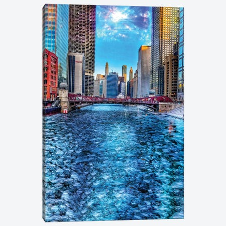 Ice River Canvas Print #CVE18} by Caitlin Vera Canvas Wall Art