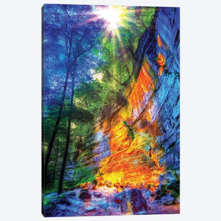 Autumn Hike Canvas Print #CVE1} by Caitlin Vera Canvas Wall Art
