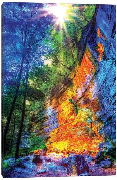 Autumn Hike Canvas Art Print