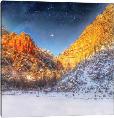 Mountain Valley Canvas Art Print