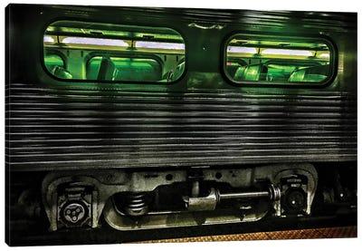 Night Train Canvas Art Print