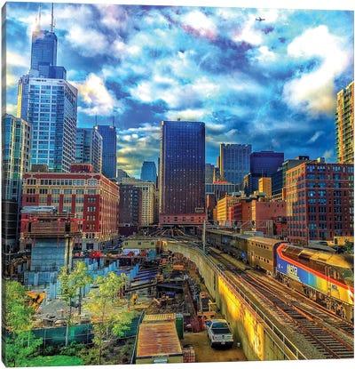 Northbound Train Canvas Art Print