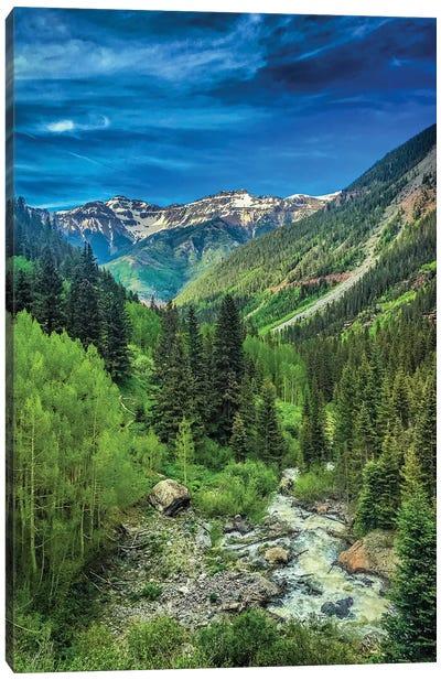 Bear Creek Falls Canvas Art Print