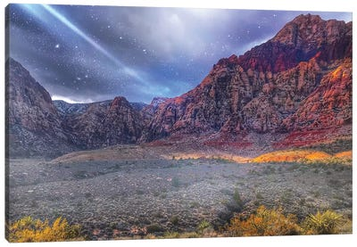 Red Rock Canyon Canvas Art Print