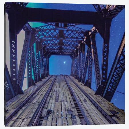 Sky Bridge Canvas Print #CVE34} by Caitlin Vera Canvas Art Print