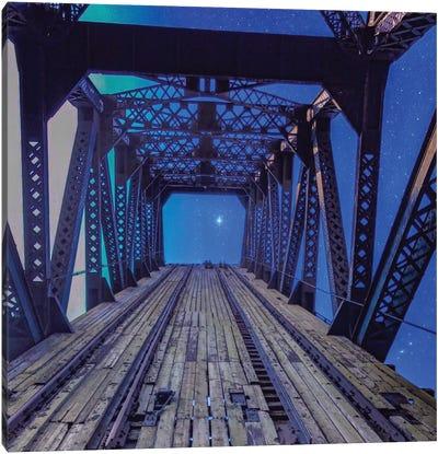 Sky Bridge Canvas Art Print