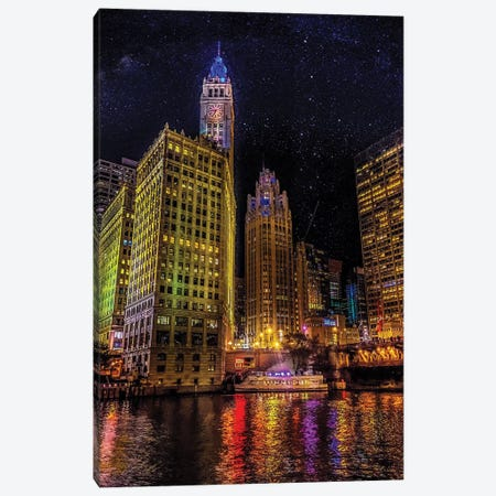 Starry Night Canvas Print #CVE38} by Caitlin Vera Canvas Wall Art