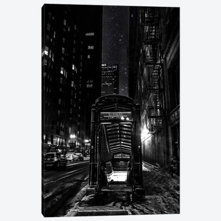 Subway Canvas Print #CVE39} by Caitlin Vera Canvas Wall Art