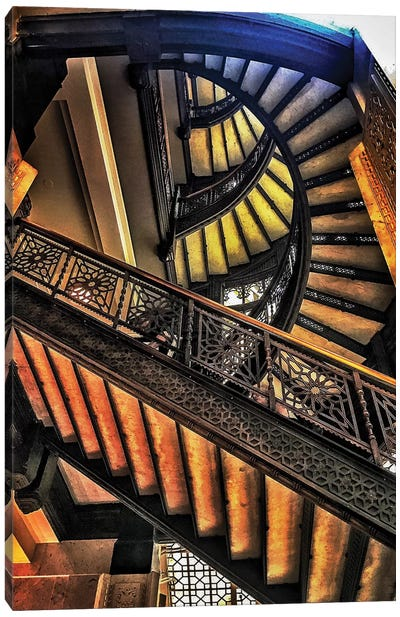 The Staircase Canvas Art Print