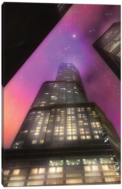 Tower Stars Canvas Art Print