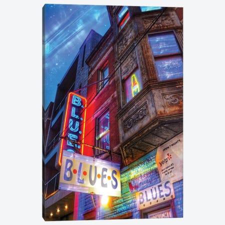 Blues Canvas Print #CVE4} by Caitlin Vera Canvas Print
