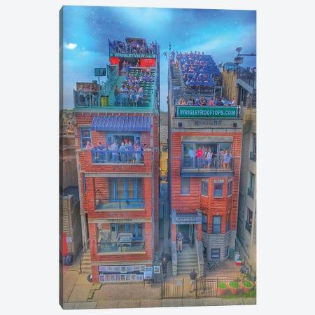 Wrigley Roofs Canvas Print #CVE54} by Caitlin Vera Canvas Art Print