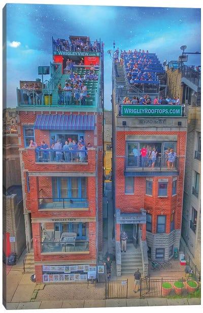 Wrigley Roofs Canvas Art Print