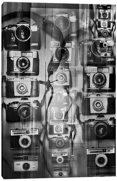 Cameras Canvas Art Print