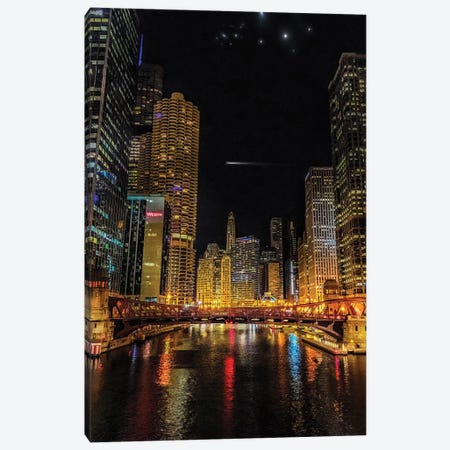 Canal Street Bridge Canvas Print #CVE8} by Caitlin Vera Canvas Artwork
