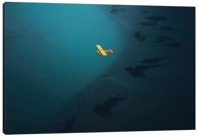 Flying Over Iceland II Canvas Art Print