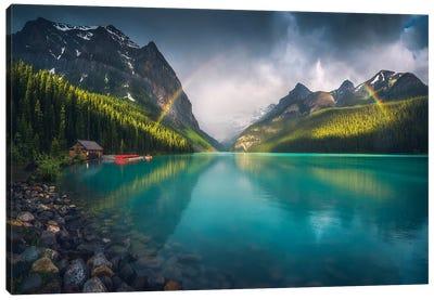 Lake Louise - Banff - Canada Canvas Art Print