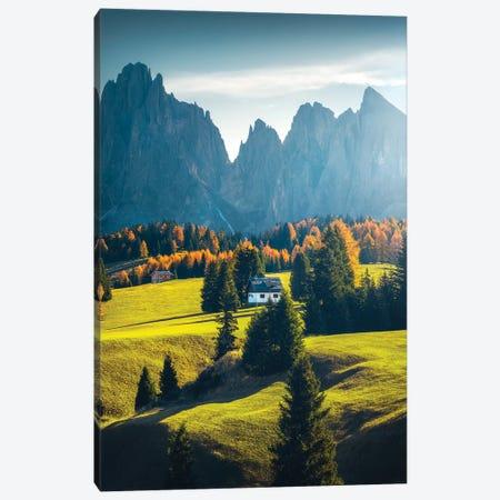 Alpe de Siusi I - Dolomites - Italy Canvas Print #CVK1} by Cuma Çevik Canvas Wall Art