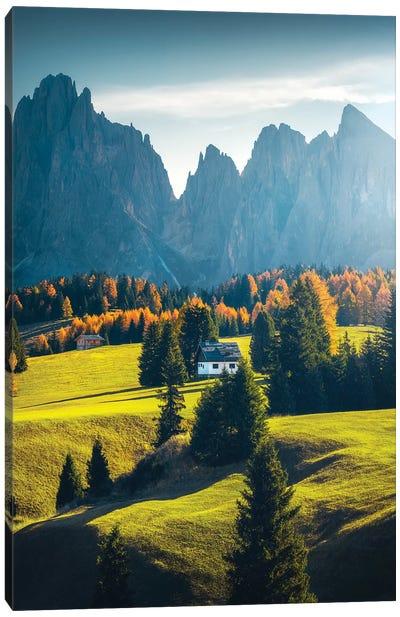 Alpe de Siusi I - Dolomites - Italy Canvas Art Print
