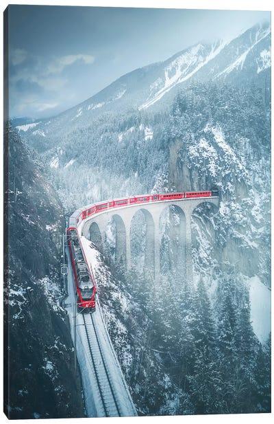 Landwasser Viaduct - Switzerland Canvas Art Print
