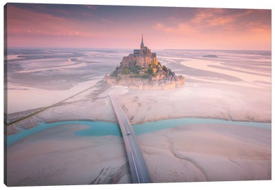 Mont Saint Michel I - France Canvas Art Print