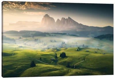 Alpe de Siusi II - Dolomites - Italy Canvas Art Print