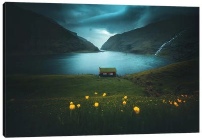 Saksun - Faroe Islands Canvas Art Print