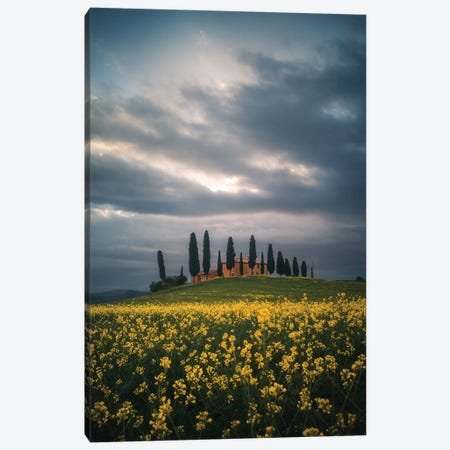 Tuscany IV - Italy 3-Piece Canvas #CVK42} by Cuma Çevik Art Print