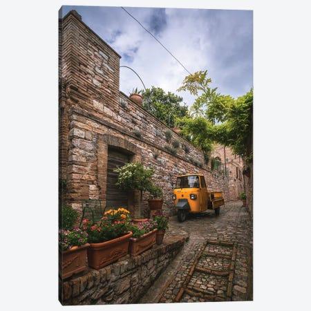 Tuscany Streets Canvas Print #CVK52} by Cuma Çevik Canvas Artwork