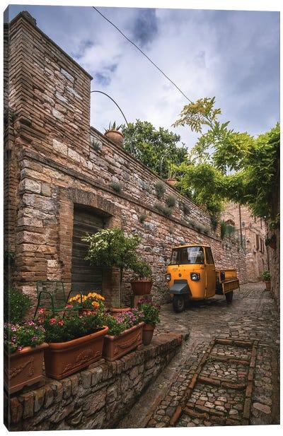 Tuscany Streets Canvas Art Print