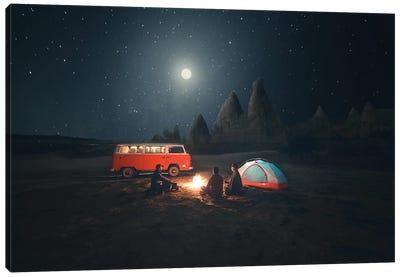 Cappadocian Nights Canvas Art Print