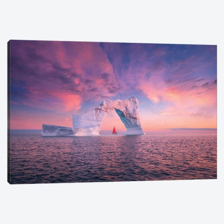 Greenland Canvas Print #CVK60} by Cuma Çevik Canvas Art Print