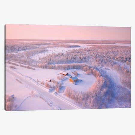 Lapland I Canvas Print #CVK61} by Cuma Çevik Art Print